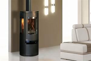 Poele Bois Design Moderne : poele a bois fonte flamme moderne ou rustique ~ Zukunftsfamilie.com Idées de Décoration
