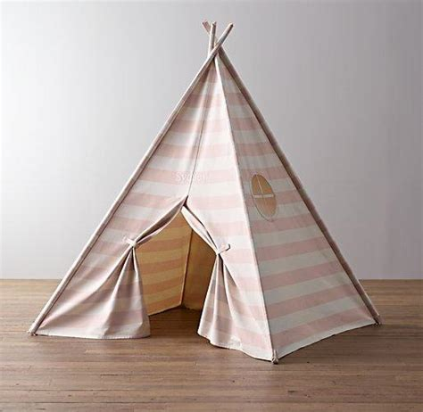 awning stripe canvas play tent restoration hardware baby child