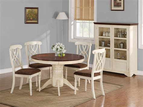 Sign in | create account. Cintra reclaimed wood white expandable round dining table ...