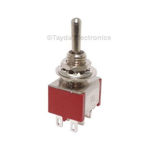 Mini Toggle Momentary Switch Dpdt Off