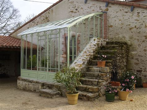 serre en fer forg 233 adoss 233 e 224 une maison serres d antan basileek jardin hiver serres