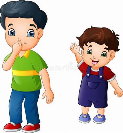 Brother Older Cartoon Younger Bruder His Qualcosa