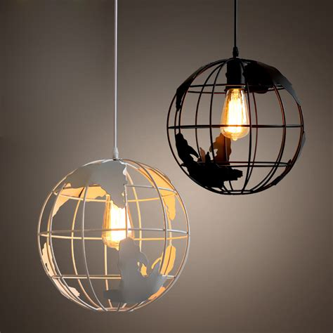 white globe pendant light aliexpress com buy modern globe pendant lights black