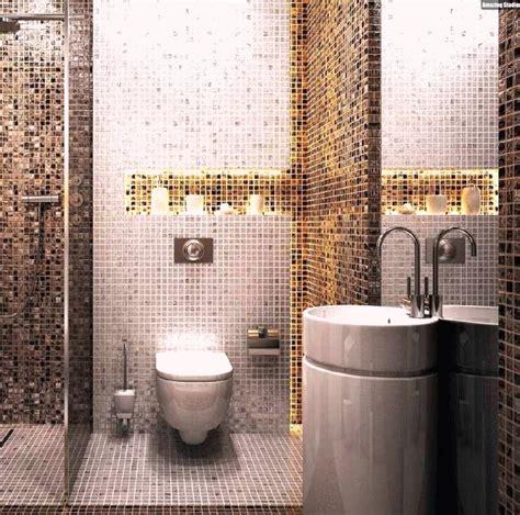 Mosaik Fliesen Badezimmer Waschkonsole Indirekte