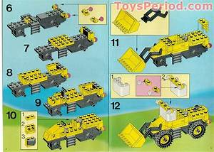 Lego 6481 Light And Sound Construction Crew Set Parts