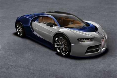 2015 Bugatti Chiron bugatti chiron rendered based on vision gt gtspirit