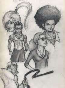 Boondocks Drawings Huey and Riley Grown Up