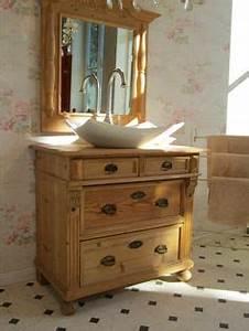 Badmöbel Vintage Style : badunterschr nke waschtisch antik unterschrank vintage shabby chic ein designerst ck von ~ Indierocktalk.com Haus und Dekorationen