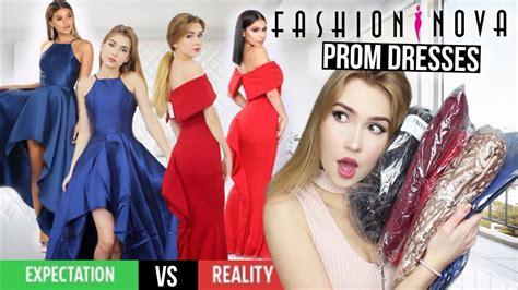 fashion nova prom dresses success youtube