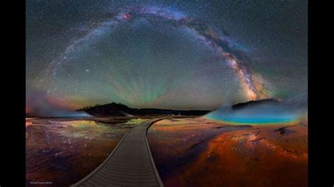 Photographer Captures Milky Way Over Yellowstone National