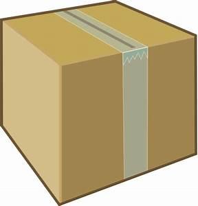 Cardboard Box Clip Art At Clker Com