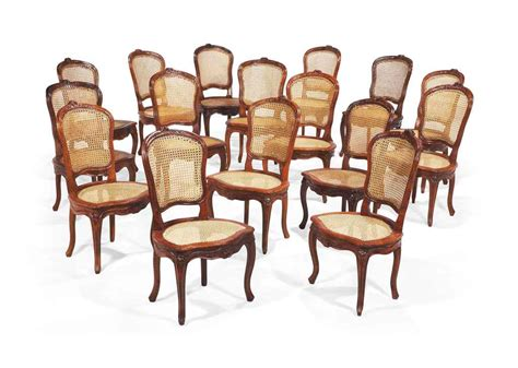 lot de chaise salle a manger suite de seize chaises de salle a manger en partie d