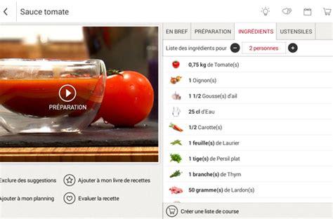 tablette recette cuisine test cuisiner mais pas seulement avec la tablette qooq