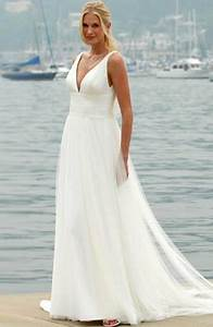 flowing beach wedding dresses sang maestro With flowing beach wedding dresses