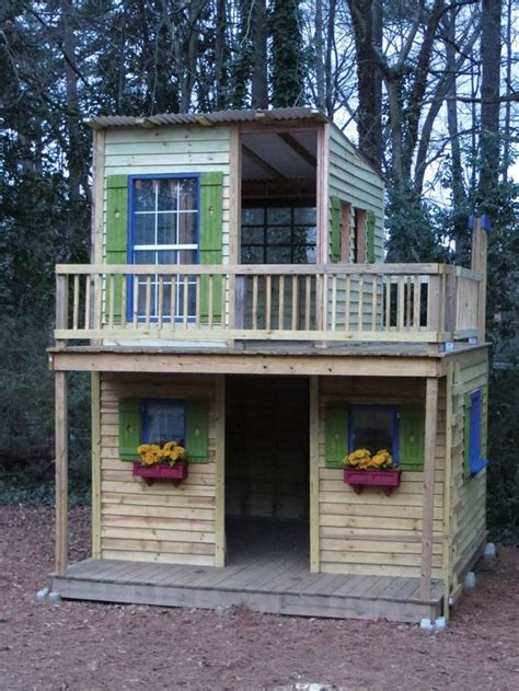 Backyard Clubhouse Plans by 23 Best Shed Playhouse Images On Shed