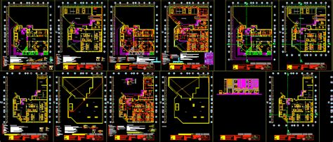 star hotel  dwg full project  autocad designs cad