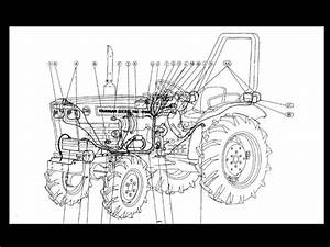 Yanmar Ym276 Ym276d Tractor Service Manual Set 660pgs With