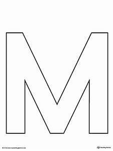 Letter M Pattern Maze Worksheet | MyTeachingStation.com