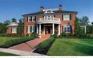 georgian style home plans georgian house traditional exterior other by