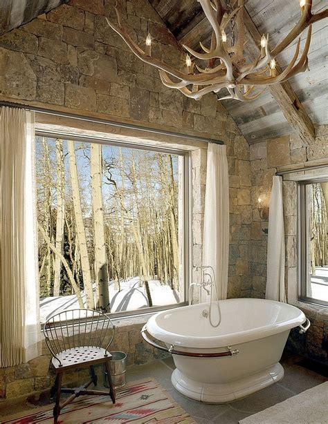 50 Enchanting Ideas For The Relaxed, Rustic Bathroom