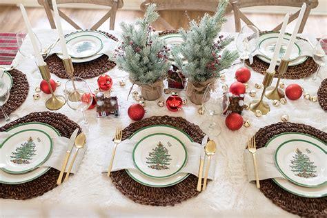stunning christmas table setting ideas  macys fancy