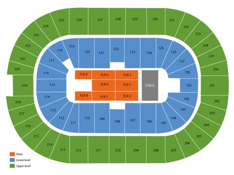 ontario centre seating chart hamilton