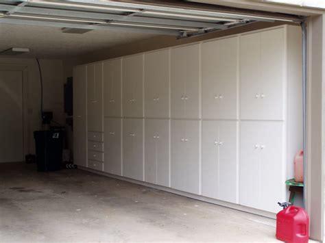 garage built  cabinets plans diy   mission