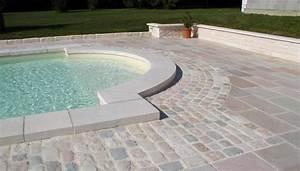 margelle de piscine en pierre wasuk With plage piscine sans margelle 3 margelle de piscine en pierre de lave noire volcanique