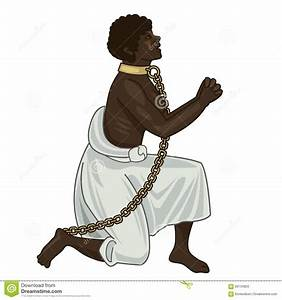 Abolition Of Slavery. Towards Freedom. Woman In Chains ...