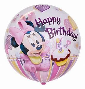 Happy Birthday Maus : bubble ballon motiv minnie maus ~ Buech-reservation.com Haus und Dekorationen