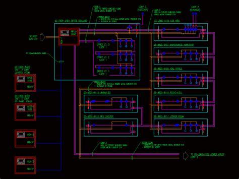 fire protection diagram dwg block  autocad designs cad