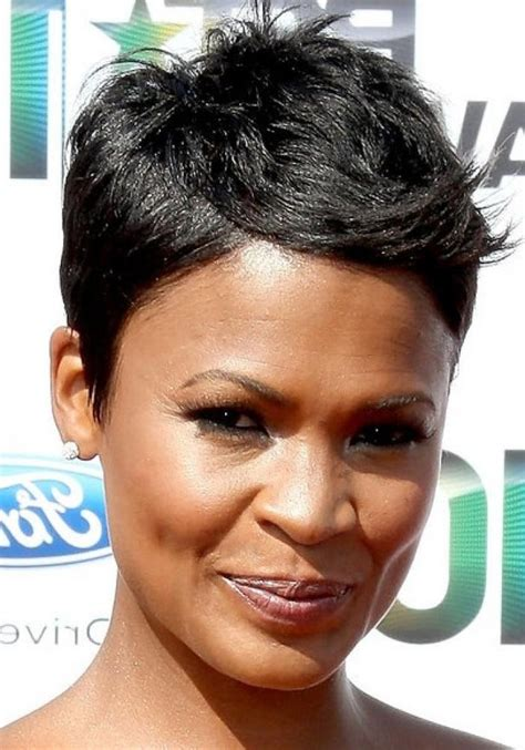 2019 Popular Short Haircuts For Black Women With Fine Hair