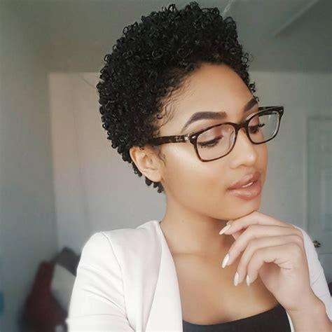 Professional Short Curly Haircut   thirstyroots.com: Black
