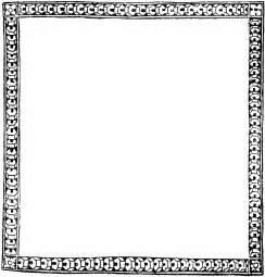 Decorative Page Borders Clip Art