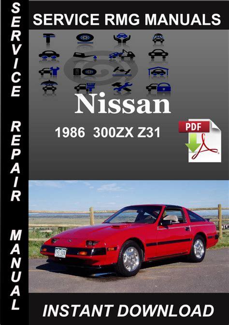 service and repair manuals 1986 maserati biturbo on board diagnostic system 1986 nissan 300zx z31 service repair manual download download man