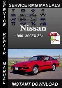 1986 Nissan 300zx Z31 Service Repair Manual Download