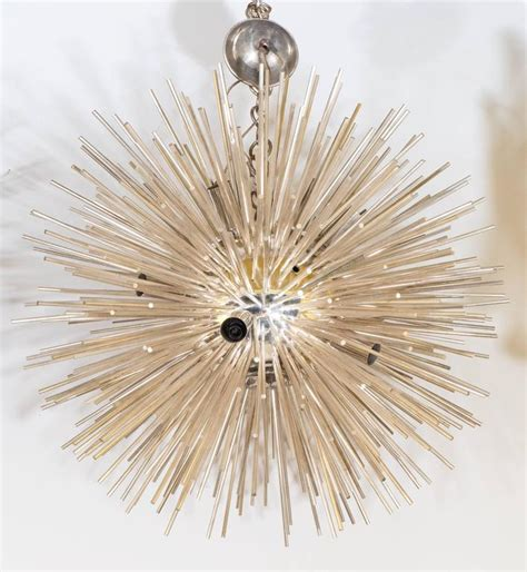 silver sputnik chandelier italian late 20th century silver sputnik chandelier for