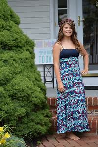 LuLaRoe Maxi skirt worn as a dress. The possibilities are ...