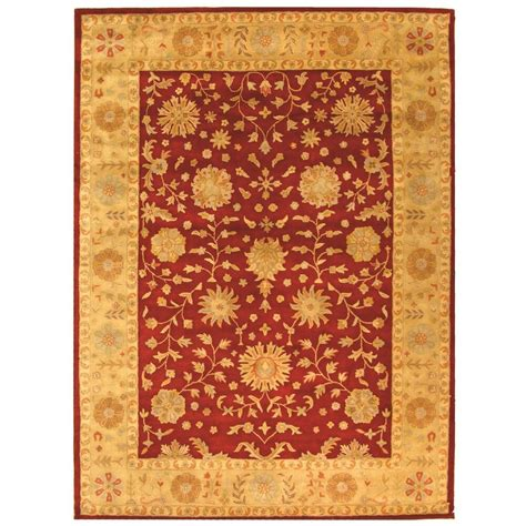 Rug Gold by Safavieh Tufted Heritage Gold Wool Area Rugs