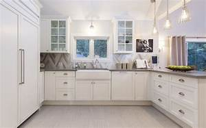 chevron tile backsplash contemporary kitchen behr With kitchen colors with white cabinets with 1 corinthians 13 wall art