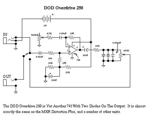 Ultimate Eq Eq Wiring Diagram by Dod Guitar Distortion Schematic Electronic Schematics