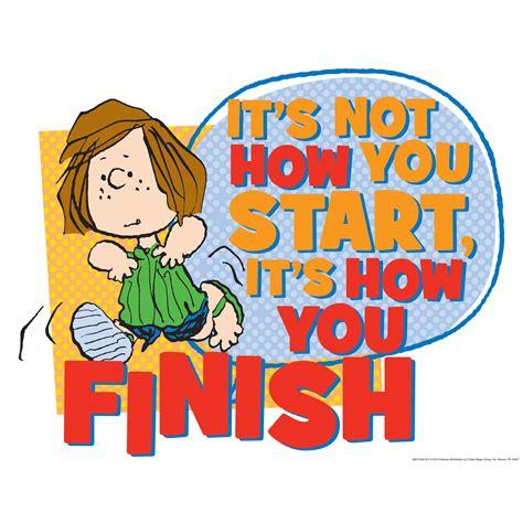 peanuts   finish school posters eureka school
