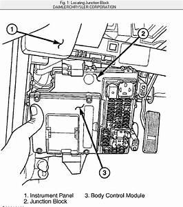 2002 Jeep Liberty  Fuse Box  The Manual Says Its Behind