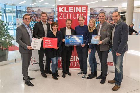 Kleine Zeitung Bad Waltersdorf by Kleine Zeitung Gewinnspiel 220 Bergabe Graz Marathon