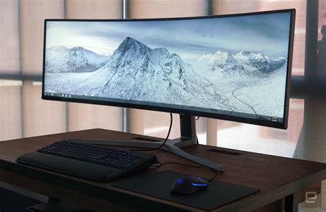 Samsung 的 49 吋超寬螢幕想要佔領你的視野