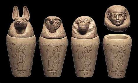 canap ik canopic jars were used by the ancient egyptians during the