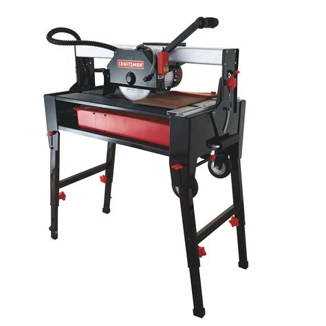 sears tools tile saw craftsman 28462 10 in table saw w stand sears outlet
