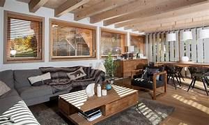 Maison Bois Contemporaine : maison en bois luxe ~ Preciouscoupons.com Idées de Décoration