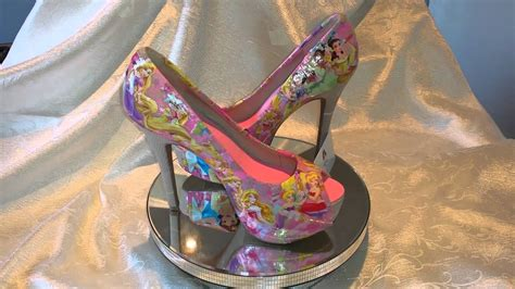 Ultimate Disney Princess Decoupage Shoes