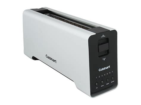narrow slot toaster search cuisinart cpt 2000 2 slice extruded slot toaster